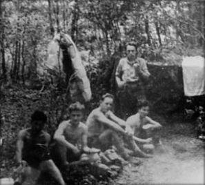 Groupe du cap. Tonkin, Verrières - juin/juillet 1944 © Conservatoire de la Résistance et de la Déportation des Deux-Sèvres