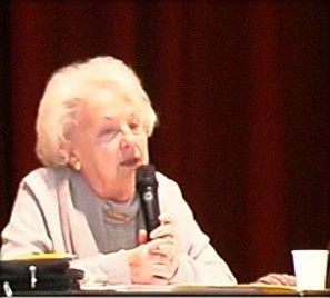Jacqueline Fleury (Châtillon-sur-Thouet 2012) © CRRL