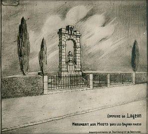 Croquis par Julien Burcier (architecte), 1947/1948 © Tous droits réservés