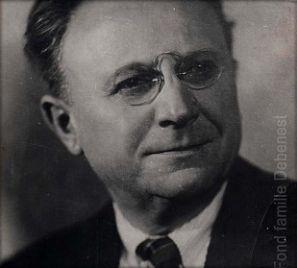 Portrait d'Ernest Pérochon © CRRL-Fond famille Debenest