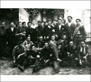 Groupe FFI commandé par Rémy Loubeau, basé à Louin © Conservatoire de la Résistance Deux-Sèvres