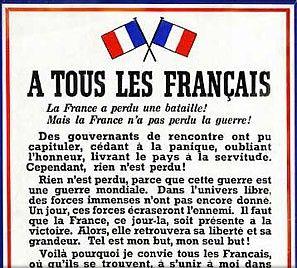 Appel du 18 juin 1940 © CRRL