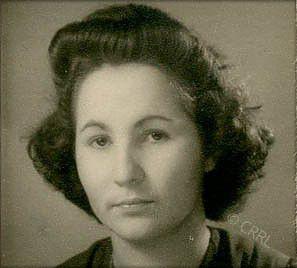 Ginette Mars, février 1943 © Fonds Ginette Mars – Centre Régional « Résistance & Liberté »