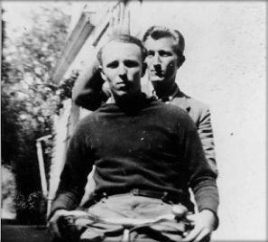 Aviateurs américains à Irais (mai 1944) © Conservatoire de la Résistance des Deux-Sèvres
