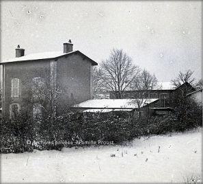 Ecole de Perré dans les années 1940 © Archives privées – Famille Proust